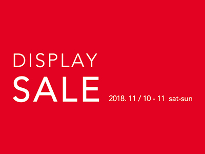 DISPLAY SALE